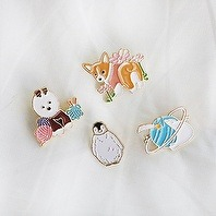 D.LAB Animal Badge - 4 Type 동물 배지