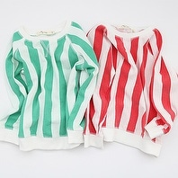 [마이민] stripe sweat shirt